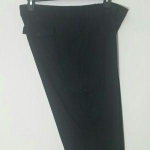 Caribbean Joe Cargo pants cropped black New